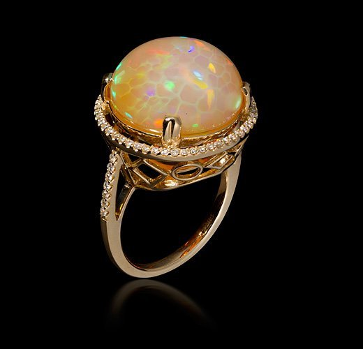 Ethiopian opal ring heath london jewelry mozeypictures Gallery